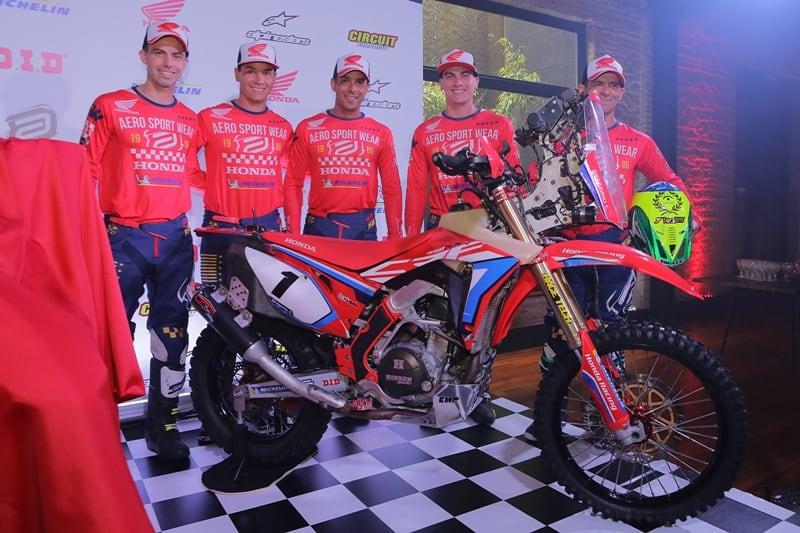 Honda Racing Rally Cross Country
