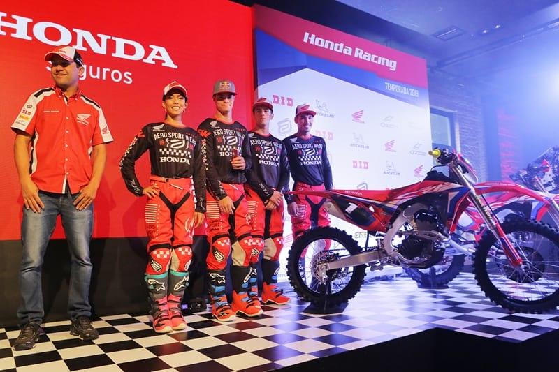 Honda Racing Enduro