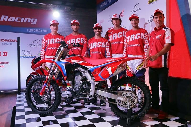 Honda Racing Motocross