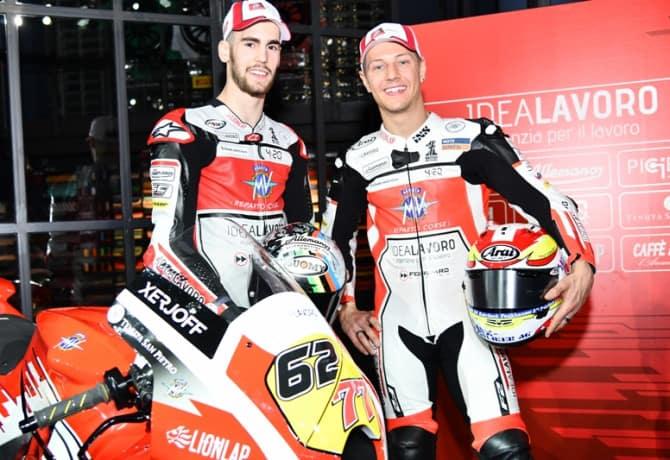 MV Agusta apresenta seu time para MotoGP