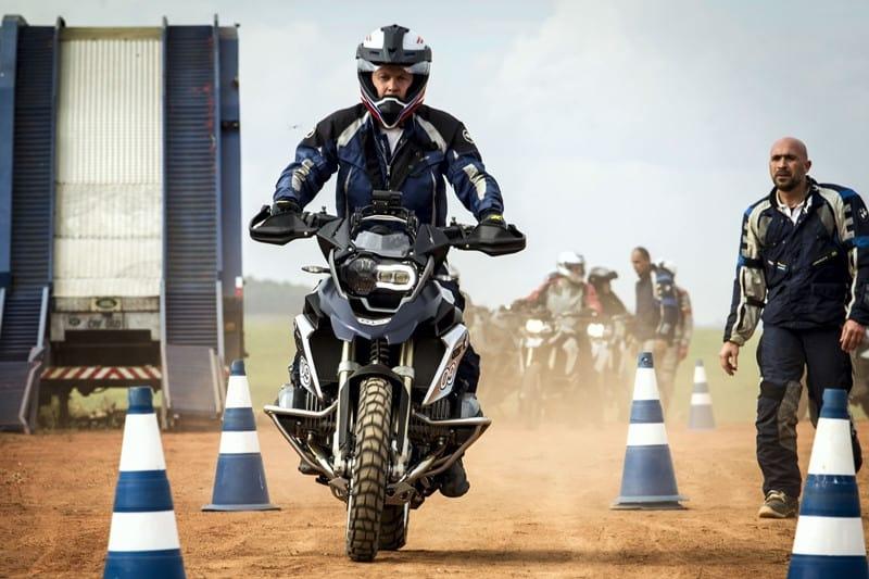 BMW Rider Experience, uma das atividades alternativas que a BMW realiza para clientes
