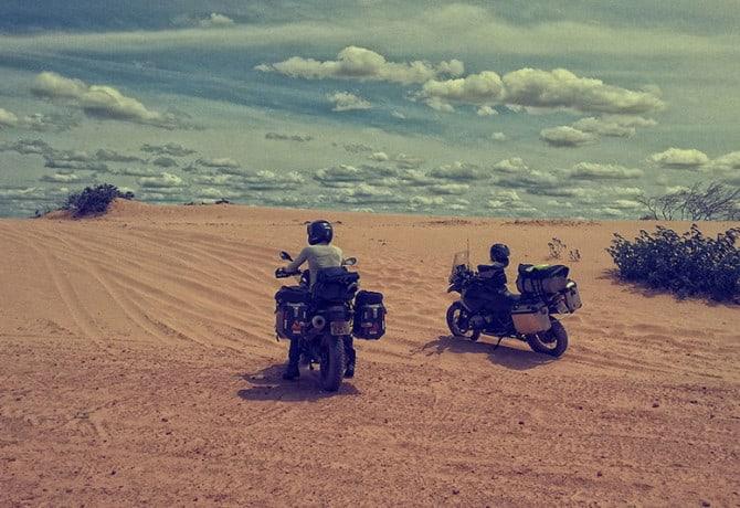 Motociclista viaja o País e cria exposição sobre felicidade