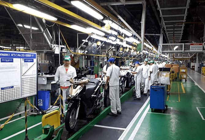 Honda investirá R$ 500 milhões na fábrica de Manaus
