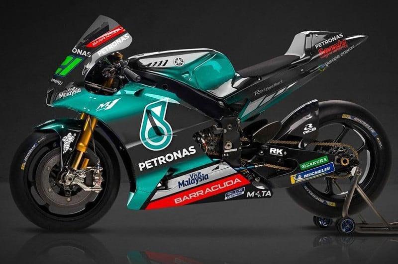 Yamaha M1 2019 da SIC/Petronas