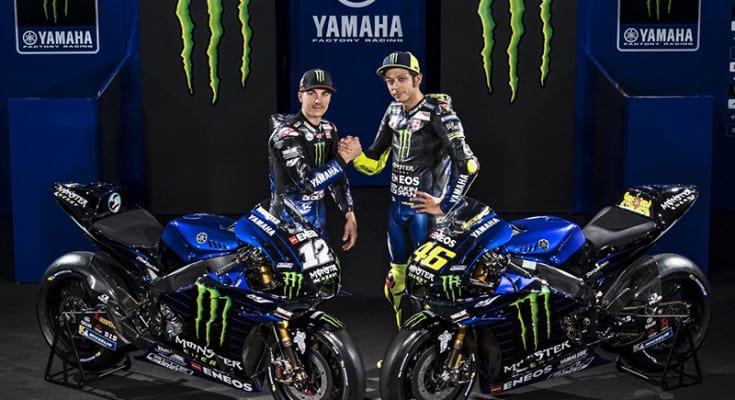 Maverick Viñales e Valentino Rossi