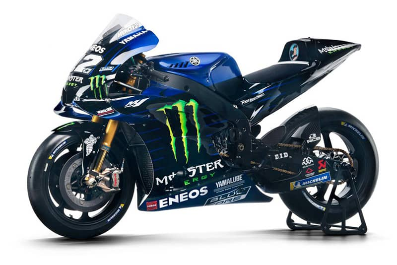 Yamaha M1 2019 veste preto