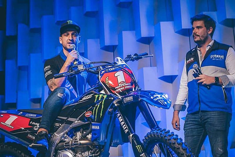Recentemente outro estrangeiro chegou para fortalecer o time de fábrica Yamaha: o português Paulo Alberto compete no motocross