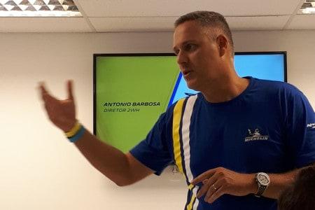Antonio Barbosa, diretor comercial da Michelin: um pneu para todos os usos