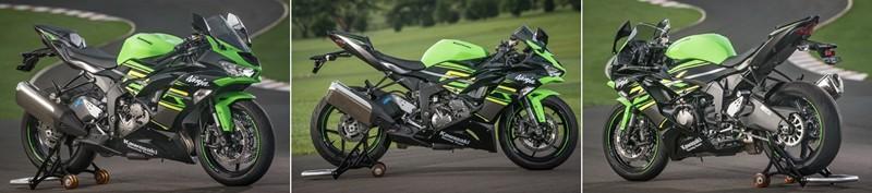 Sob qualquer ângulo, a inspiração para o novo design é da Ninja H2