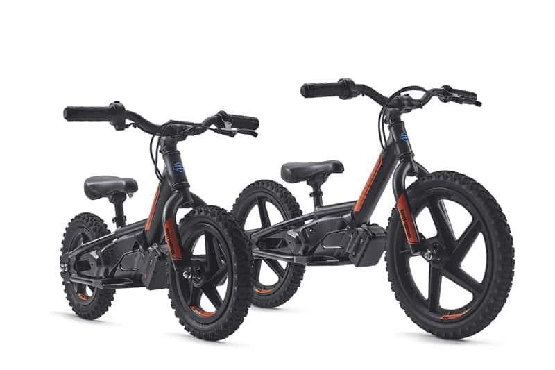 Bicicletas elétricas que estarão na gama de produtos elétricos da H-D: atender a todos os públicos é a meta