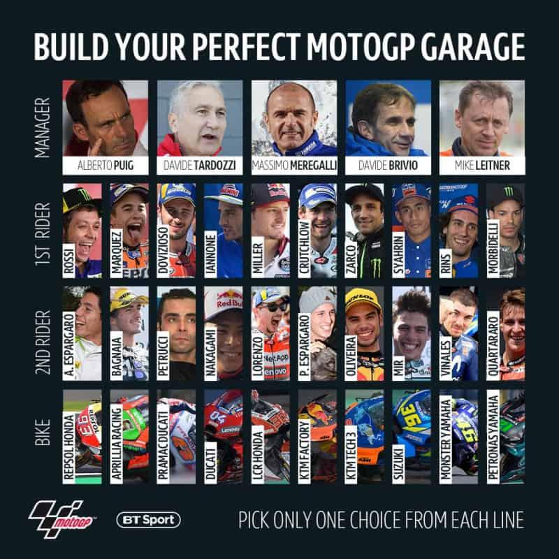 Quem você escalaria para sua 'garagem perfeita'?