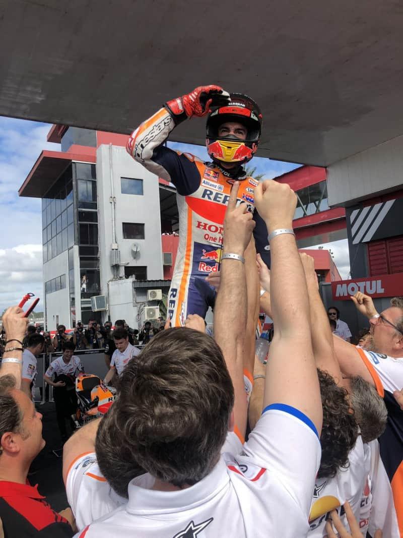 Márquez deve estar olhando o GP das Américas no horizonte e, consequentemente, mais uma vitória nos Estados Unidos
