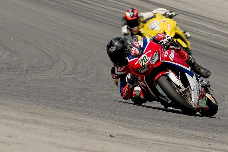 Pedro Sampaio fez uma corrida segura e garantiu o pódio para a Honda Racing Team