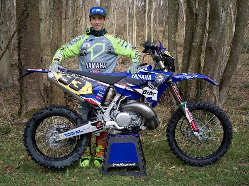 Romain Dumontier, campeão mundial de enduro, reforça o time de fábrica da Yamaha no campeonato brasileiro da categoria