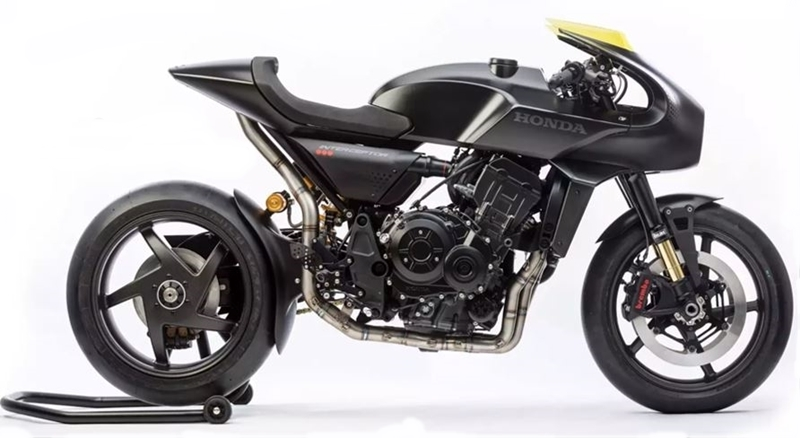 Moto conceito que deu origem à nova Honda CB 1000R
