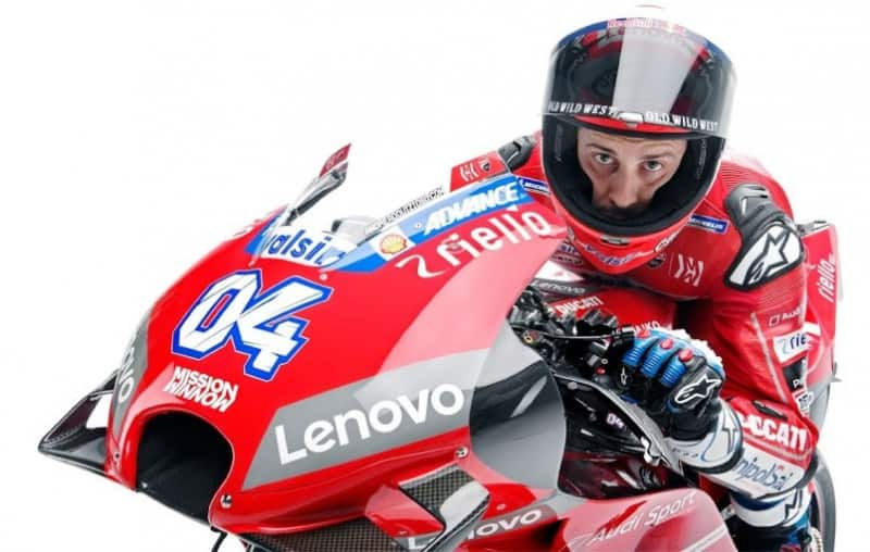 O rival em 2019: Andréa Dovizioso e sua Ducati #04
