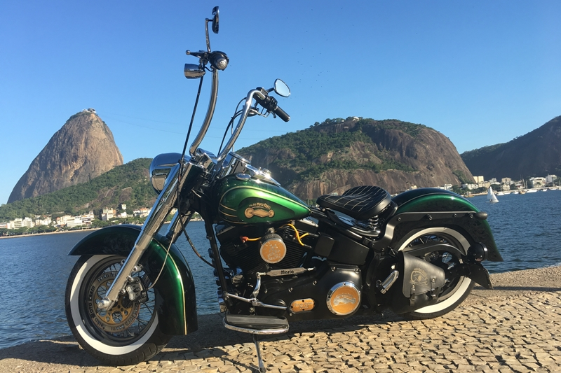 Maria, a moto símbolo do Salão Moto Brasil