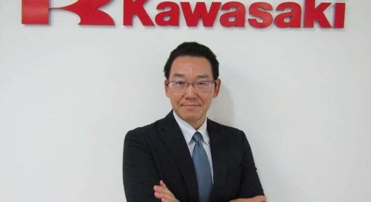 Naoki Kawaguchi, no presidente da Kawasaki no Brasil: desafio de manter a marca no rumo do crescimento