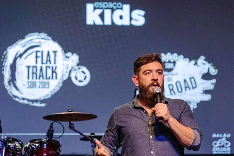 Lucas Pimentel: mais atrações com maior interatividade no Salão Duas Rodas 2019
