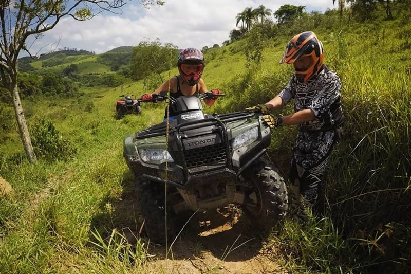 No Guararema Off-road Adventure você conta com instrutores especializados