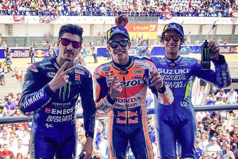 Domínio espanhol. Correndo em casa, Márquez, Viñales e Rins conquistam os três primeiros lugares na passagem da MotoGP por Jerez