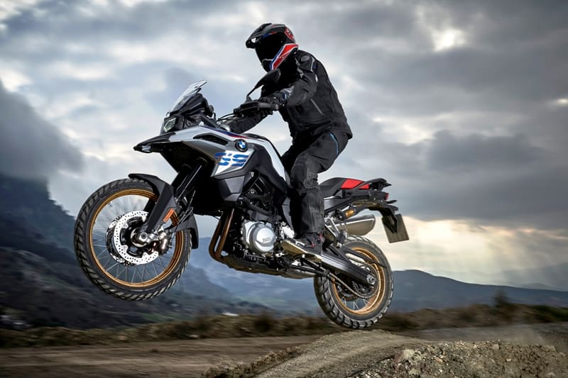 Desta vez a moto escolhida para as etapas finais do GS Trophy é a BMW F 850 GS