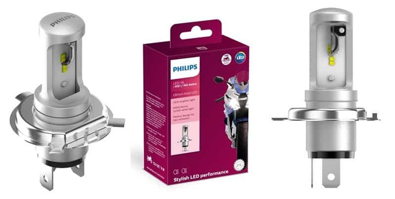 Desenvolvida para motos, a Philips Moto LED não necessita de qualquer adaptação