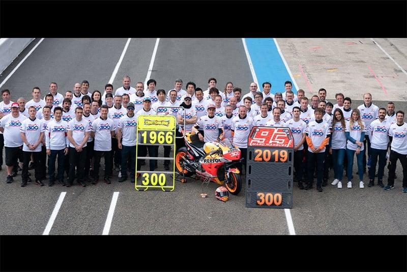 As 300 vitórias Honda