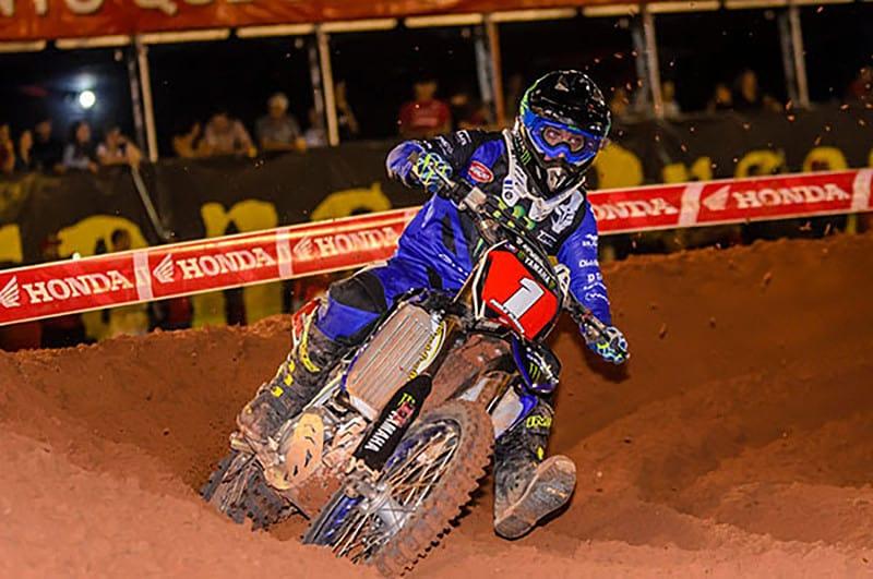 Paulo Alberto foi o mais rápido nas duas baterias e é o novo líder na classe principal do Arena Cross 2019