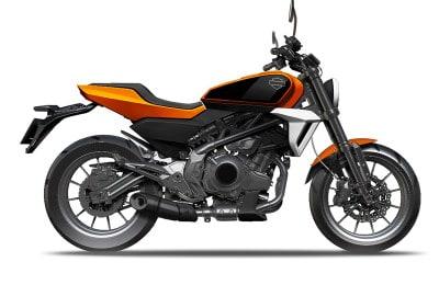 A Harley-Davidson pequena que será fabricada e vendida na China