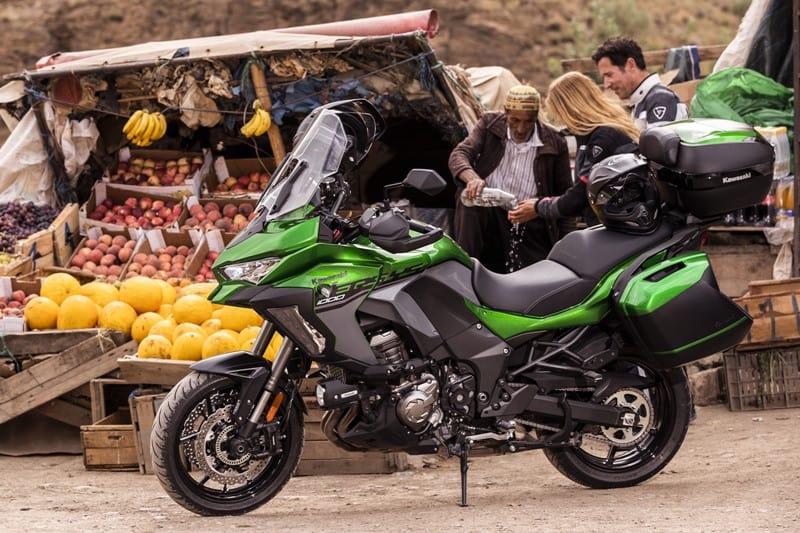 Viagem é o maior apelo da Kawasaki Versys 1000 2020