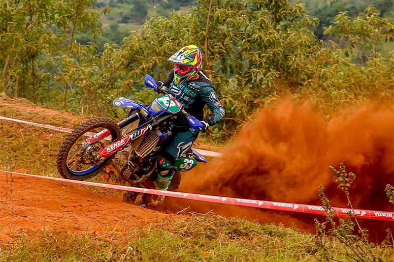 Patrik Capila correu em casa e obteve ótimos resultados - Foto: Rogério Leite