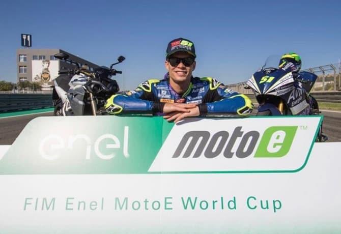 Eric Granado vence corrida teste da MotoE