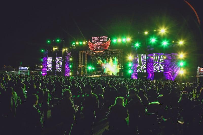 Quatro palcos reunirão mais de 50 bandas na capital do rock