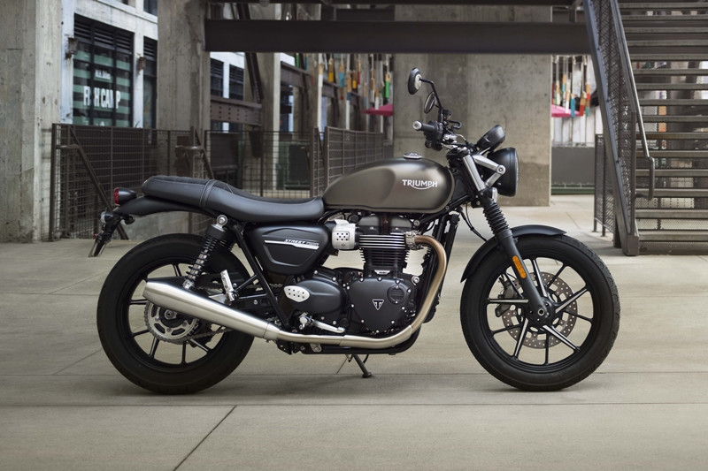 Street Twin: simplesmente clássica