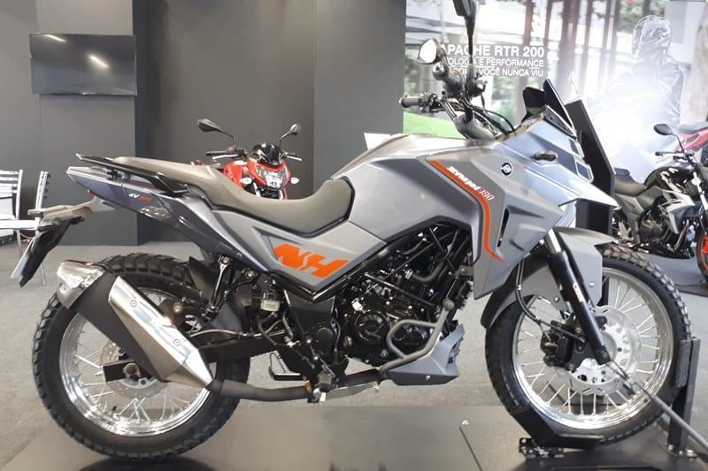 Dafra NH 190: uma trail urbana para concorrer com Honda Bros e Yamaha Crosser