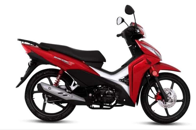 """Honda Waze, a """"Biz"""" argentina, uma das motos fabricadas por lá"""