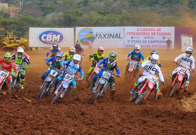 Paulo Alberto vence e lidera Brasileiro de Motocross