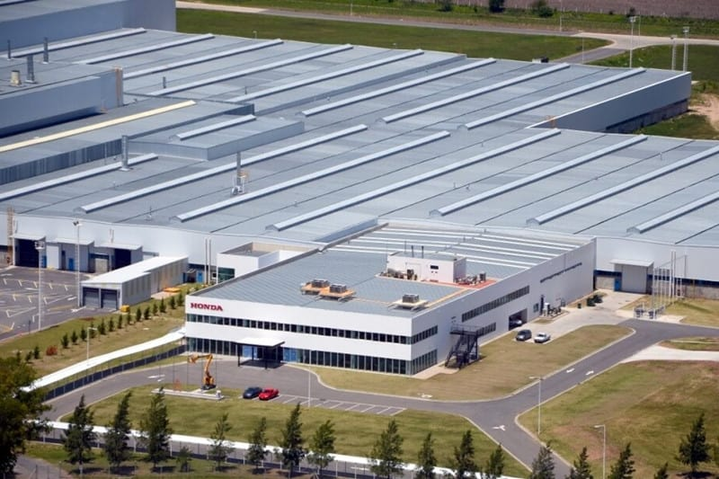 A fábrica da Honda, em Campana, província de Buenos Aires: inaugurada em 2006, saem os carros e ficam apenas as motos