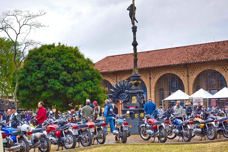 Motos clássicas invadem São Paulo neste final de semana