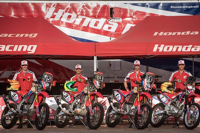 Esquadrão da Honda pronta para defender o título - Foto: Gustavo Epifanio/Mundo Press