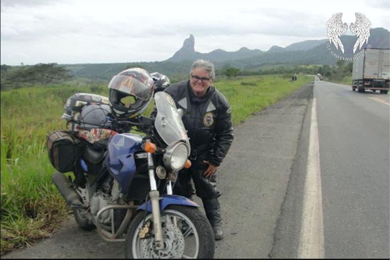 Com uma CB 500 e muita disposição, a professora Graça Santos é uma das dez mulheres que irá encarar essa viajem de moto ao Atacama