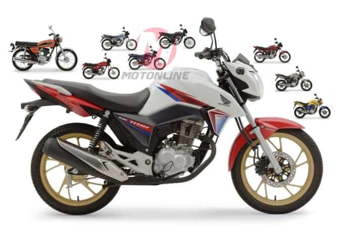 Honda CG: 43 anos de evolução