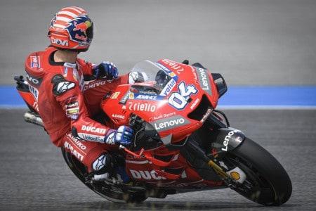 Dovizioso e sua Ducati não conseguiram colocar pressão e adiar o 6º título de Márquez