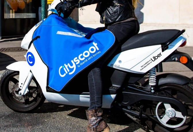 Uber oferece ciclomotores elétricos... na Europa