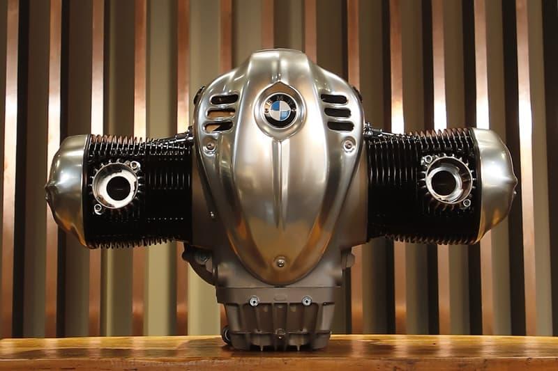 "O motor BMW ""big boxer"" que vai equipa a clássica R18 e vai equipar outras motos da marca"