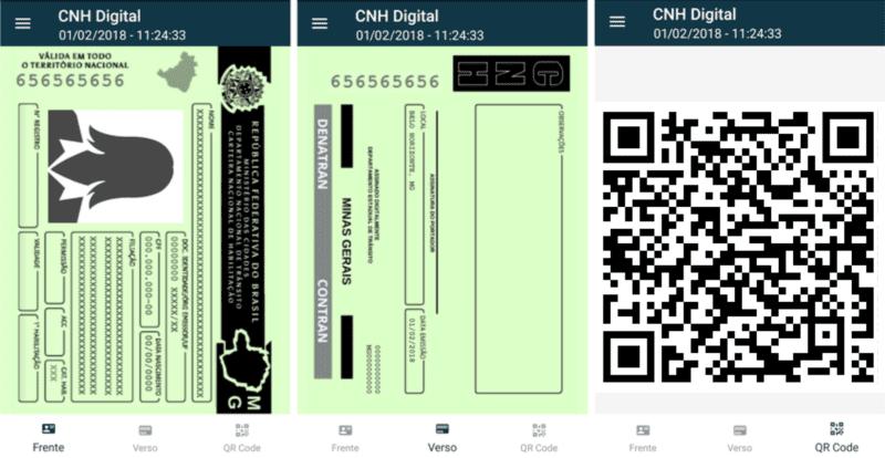 Principal vantagem é a praticidade, uma vez que a CNH-e está sempre à disposição na tela do smartphone