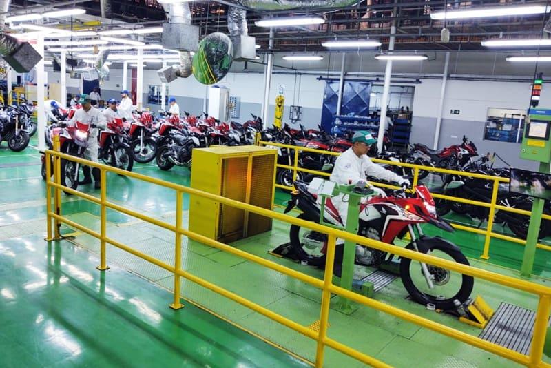 Fábrica da Honda em Manaus já produziu 25 milhões de unidades desde inauguração, em 1976