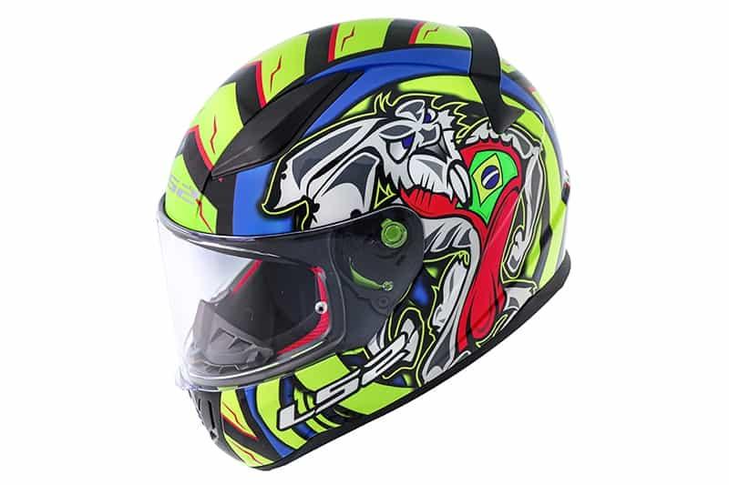 Novo capacete LS2 Rapid Alex Barros já está à venda. Preço sugerido é de R$ 649,90