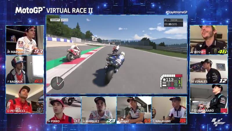 Rossi retorna para a disputa virtual depois de participação na segunda etapa